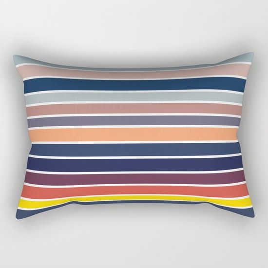 Ocean Sunset #2 Rectangular Pillow
