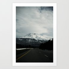 mount (California)  Art Print