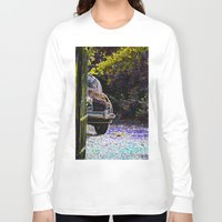 car Long Sleeve T-shirts featuring Car by Lior Blum