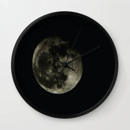 Moon1 Wall Clock