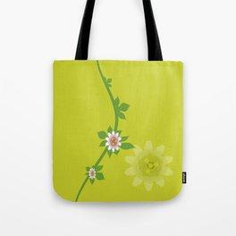 Maracuja flower Tote Bag