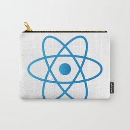 Abstract Isolated Atom Carry-All Pouch