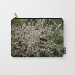 Wooly Bear Caterpillar on Plants - Big Bend Carry-All Pouch