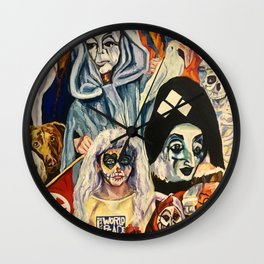 I Declare World Peace Wall Clock