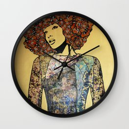 All The Pretty Things III Wall Clock