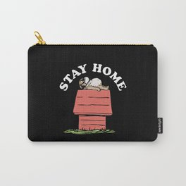 Pug Stay Home Carry-All Pouch