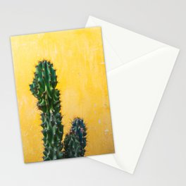 Cactus in Mexico City Stationery Cards