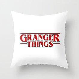 Granger Things ! Throw Pillow