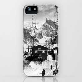 Ski Lift iPhone Case