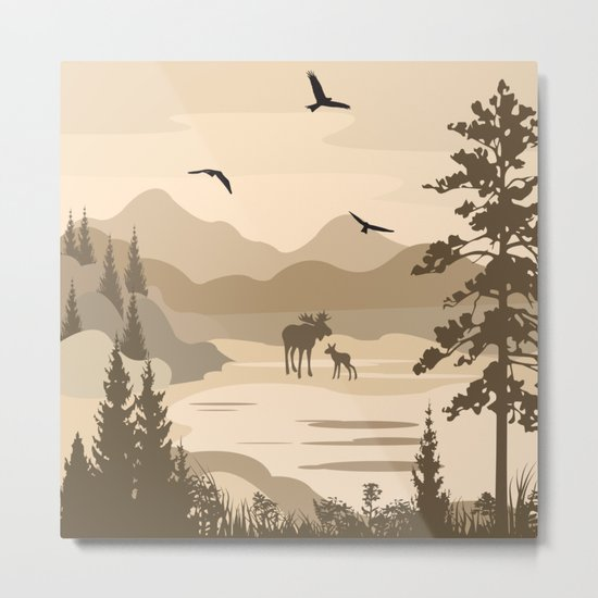 My Nature Collection No. 40 Metal Print
