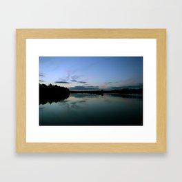 Jewel Lake Framed Art Print