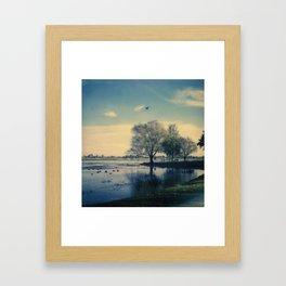 Lake Wendouree Framed Art Print