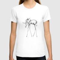 elephant T-shirts featuring Elephant by Nicole Cioffe