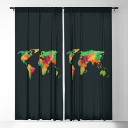 We are colorful Blackout Curtain
