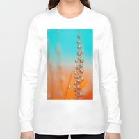 be happy Long Sleeve T-shirts featuring Happy  by Marisa Johnson :: Art & Photography