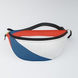 Retro Beams Pop Art - Red White Blue Fanny Pack