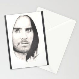 jared leto... Stationery Cards