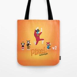 WB Pixel Nostalgia Tote Bag