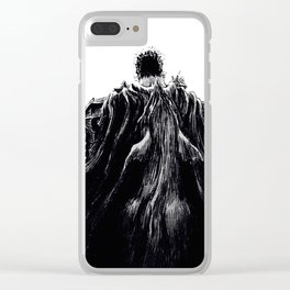 Berserk Guts with Beast of Darkness Clear iPhone Case