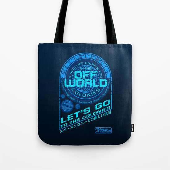 Off World Tote Bag