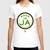 jamaica T-shirts featuring Made in Gyalchester-Jamaica by DCMBR - December Creative Group