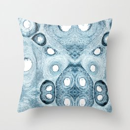 Fishbone Throw Pillow