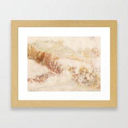 little Landscape Framed Art Print