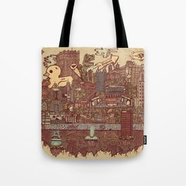 Pittsburgh Island Tote Bag
