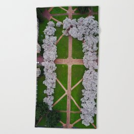UW Cherry Blossoms: Spring Beach Towel