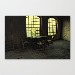 pause of ghosts Canvas Print