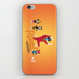 WB Pixel Nostalgia iPhone Skin