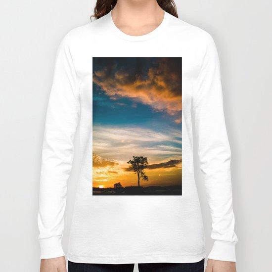 Nice Sunset Long Sleeve T-shirt