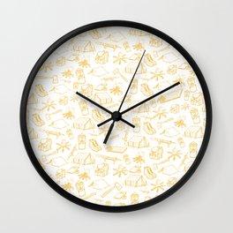 ADVENTURE SEEKER Wall Clock