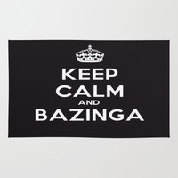 bazinga Area & Throw Rugs featuring Bazinga by S.YassinPhotography