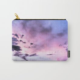 fly up to the blue pink sky Carry-All Pouch