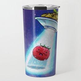 UFO Spaghetti Dreams Travel Mug