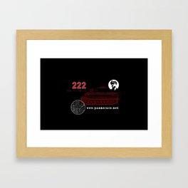 Michael Wittmann Panzer Ace 222 Villers Bocage Black Framed Art Print