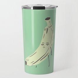 annoyed banana Travel Mug