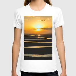 The Congo River Basin at Sunset Photographic T-shirt