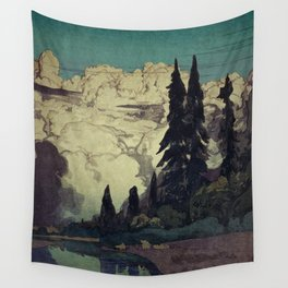 The Pending Storm at Hike Wall Tapestry