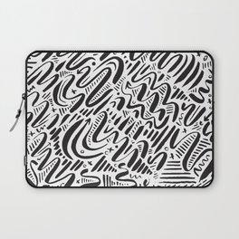 SQUIGGLY WIGGLY Laptop Sleeve