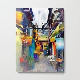 Shanghai Ally Metal Print