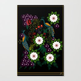Fusion Of Traditional And Modern Era Print Of Bharat Canvas Print