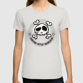 Never Stop Smiling (light) T-shirt