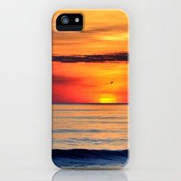 Henne Strand Sunset iPhone Case