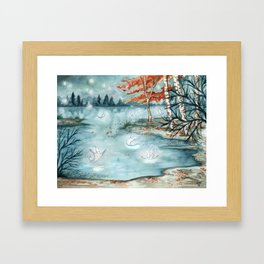 Willow Wisps Framed Art Print