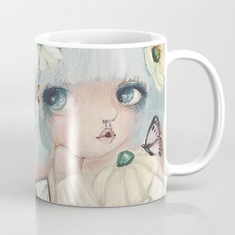 Pumpkin Blue Pixie Coffee Mug