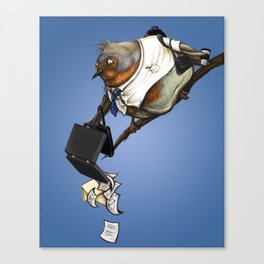 workbird Canvas Print