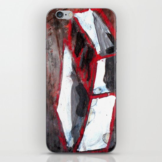 red match box iPhone & iPod Skin