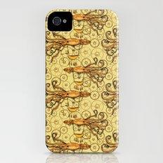Steampunk Squid Transport iPhone (4, 4s) Slim Case